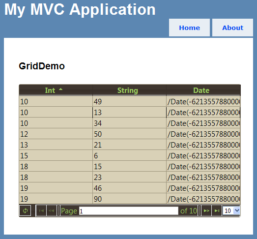 Using jqGrid with ASP NET MVC: Finally, A Solution