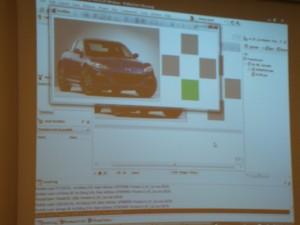 Delphi app to control race car model via radio