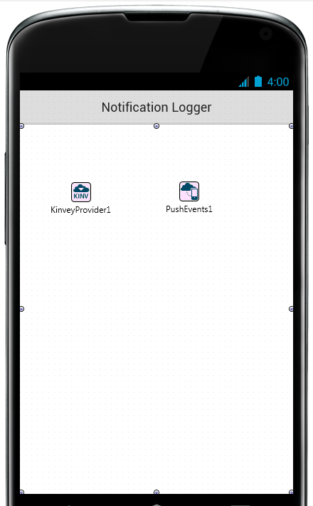 Remote push notifications on Android with RAD Studio XE6